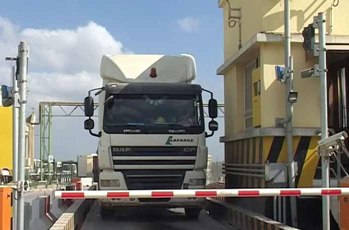 RFID کامیون